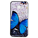 Buy Samsung Galaxy J3 (2016) On5 Back Cover Case Blue Butterfly Pattern Soft TPU
