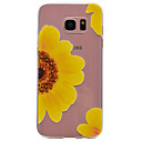 Buy Samsung Galaxy S7 edge S6 Sunflower Pattern TPU High Purity Translucent Soft Phone Case S5 S4 S3