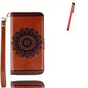 Buy Samsung Galaxy J5 (2016) J3 Card Holder Wallet Stand Flip Pattern Case Full Body Cover Mandala Hard PU Leather Stylus