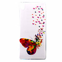 Buy Sony Case / Xperia XA Ultra-thin Pattern Back Cover Butterfly Soft TPU E5