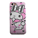 Buy Rabbit Bow Pattern TPU Silk Material Paste Skin Phone Case iPhone 7 Plus