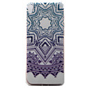 Buy Sony Xperia XA Case Cover Purple Campanula Pattern Painted TPU Material Phone
