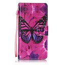 Buy Samsung Galaxy A5(2016) A3(2016) Card Holder Wallet Stand Flip Pattern Case Full Body Butterfly Hard PU Leather