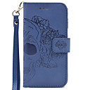 Buy Samsung Galaxy J3 (2016) J5 J7 Hand Rope Style Skull Embossing PU Card Holder Wallet Phone Cover