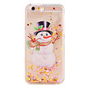 Buy Pattern Case Back Cover Flowing Liquid Christmas Snowman Soft PC iPhone 7 Plus 6s 6 SE 5s 5 4s 4 5C