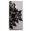 Buy Huawei P9 P9Lite Case Cover Skull Flower Pattern High Permeability Painting TPU Material Phone