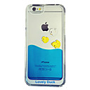 Buy Funny Design Fluid Liquid Flowing Yellow Duck Crystal Clear Plastic Hard Case Cover iPhone 5/5S