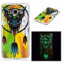 Buy Samsung Galaxy 7 (2016) J7 J5 Cover Case Glow Dark IMD Pattern Back Owl Soft TPU J3 Grand Prime