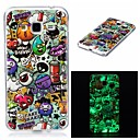 Buy Samsung Galaxy 7 (2016) J7 J5 Cover Case Glow Dark IMD Pattern Back animals Soft TPU J3 Grand Prime