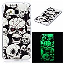 Buy Samsung Galaxy 7 (2016) J7 J5 Cover Case Glow Dark IMD Pattern Back Skull Soft TPU J3 Grand Prime