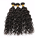 Buy Vinsteen 100% Unprocessed Brazilian Virgin Hair Extension 8-30inch Lot Water Wave Human Extensions Natural Black Color Dyeable