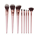 Buy 8 Contour Brush Makeup Set Blush Eyeshadow Brow Concealer Fan Powder Foundation BrushSynthetic