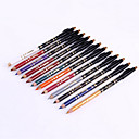 Buy 1Set/1Professional 24 Hour Lasting Waterproof Colorful Liquid Eyeliner Pencil Sharpener