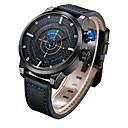 Buy Men's Women's Unisex Sport Watch Dress Skeleton Fashion Wrist watch Mechanical Quartz Genuine Leather BandCharm