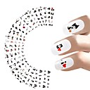 Buy 12sheets Nail Sticker Cat Designs Water Transfer Nails Art Loveliness Cartoon Gel Beauty Decal Makeup Manicure Wrap Decals