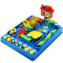 Buy 3D Educational Toys Children Maze Pass Leisure Hobby Novelty Square ABS Rainbow