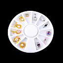 Buy 1PC Metal Drill Small Adorn Article Golden Silver Alloy Decorations