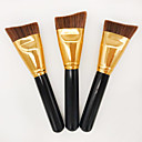 Buy Contour Brush Foundation Synthetic Hair Professional Eco-friendly Portable Wood Face Others