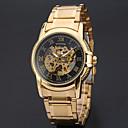 Buy Men's Women's Unisex Sport Watch Dress Skeleton Fashion Wrist watch Mechanical Automatic self-winding Alloy Band