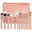 Buy 1Pink Makeup Brush Set Contour Blush Eyeshadow Brow Eyeliner Concealer Fan Powder Foundation