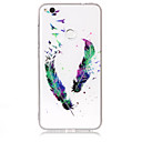 Buy Case Huawei P8 Lite (2017) P10 Phone TPU Material IMD Process Feather Pattern HD Flash Powder P9