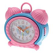 """2.5 """"Los niños del estilo analógico escritorio de la alarma del reloj (color al azar, 2xAA)"""