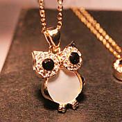 여성 팬던트 목걸이 합금 모조 다이아몬드 쉘 패션 골든 보석류 파티 Halloween 1PC