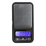 100g / 0.01g 전자 디지털 방식으로 가늠자 전화 스타일 포켓 다이아몬드 무게 밸런스 LCD 디스플레이