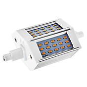 Możliwość przysłonięcia R7S 6W 48x3014SMD 528LM 2800-3000K Warm White Light LED Corn żarówki (AC 110-130V)
