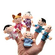 장난감 핑거 퍼펫 장난감 러블리 레져 취미용품 남자 아이 / 여아 플러쉬