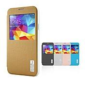 Para Funda Samsung Galaxy con Ventana / Activado/Apagado Automático / Flip / Diseños Funda Cuerpo Entero Funda Diseño GeométricoCuero