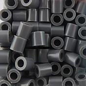 aprox 500pcs / bolsa 5mm Cuentas de fusibles gris Hama Beads rompecabezas diy eva materiales safty para los niños de artesanía