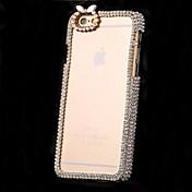 아이폰 6에 대한 고급 다이아몬드 크리스탈 백 커버 케이스