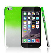 아이폰 6 플러스에 대한 ikodoo® 다채로운 투명 물방울 빗방울 컴퓨터 하드 케이스