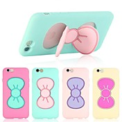 Para Funda iPhone 6 / Funda iPhone 6 Plus Antigolpes / con Soporte Funda Cubierta Trasera Funda Dibujo 3D Suave SiliconaiPhone 6s Plus/6