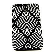 패션 검은 색 마름모꼴 패턴은 아이폰 6의 경우 4.7 인치 소프트 커버 TPU