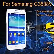 삼성 갤럭시 코어 2 G3558 / G3559 - 고 내열성 강화유리/먼지방지/방수 - 화면 보호기