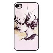 아이폰 5 / 5 초 오일 페인팅 여성 디자인 알루미늄 하드 케이스