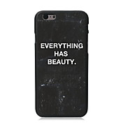Every Thing Has Beauty Design PC Hard Case for iPhone 5C