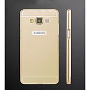 삼성 갤럭시 E7를위한 특별한 디자인 금속 뒤 표지