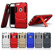 For iPhone 7 7 Plus 6s 6 Plus SE 5s 5 Case PC+TPU In Stent Two-In-One Back Cover Protective Case