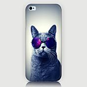 용 아이폰5케이스 케이스 커버 패턴 뒷면 커버 케이스 고양이 하드 PC 용 iPhone SE/5s iPhone 5