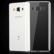 Para Funda Samsung Galaxy Transparente Funda Cubierta Trasera Funda Un Color TPU Samsung A3