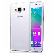 Para Funda Samsung Galaxy Transparente Funda Cubierta Trasera Funda Un Color TPU Samsung A5