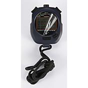 cronómetro electrónico temporizador pc3830a tres filas 30 de memoria movimiento cronómetro cronómetro