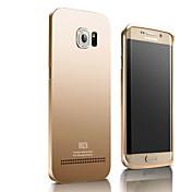 xibicen 보호 금속 합금 턴키 전화 세트 삼성 갤럭시 S6 에지 커버 케이스를 백업 플러스