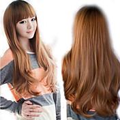 합성 가발 3 색 저렴한의 natual 현실적인 가발 깔끔한 앞머리 간단한 귀여운 스타일의 코스프레 가발 Sephiroth의 로리타 스타일 perruque