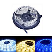 Ding Yao 5 M 60/m 5050 SMD 웜 화이트/화이트/RGB/레드/옐로/블루 50 W RGB 스트립 조명 DC12 V