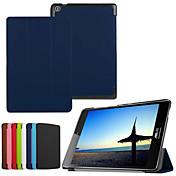 tableta de cuero de la PU de la cubierta del caso dengpin protectora con soporte para el asus zenpad s 8,0 z580c / z580ca (colores