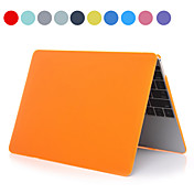 """Asling estuche rígido de la PC de color sólido con el cristal para macbook 12 """"(colores surtidos)"""